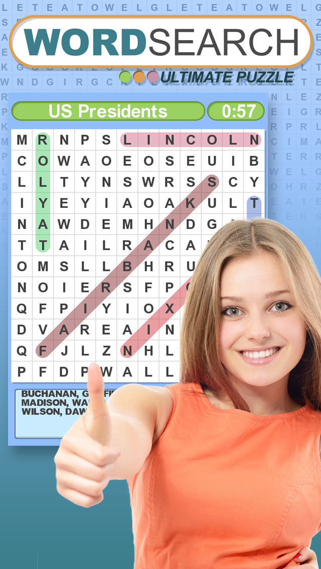 Word Search Ultimate Puzzle screenshot #3