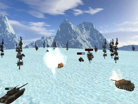 Super Tanks Blitz : World of battles screenshot 7