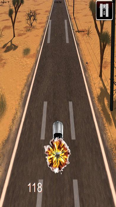 Electric Car Of Police - Fantastic Road screenshot 4