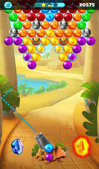 Egypt Pop Bubble Shooter screenshot 4