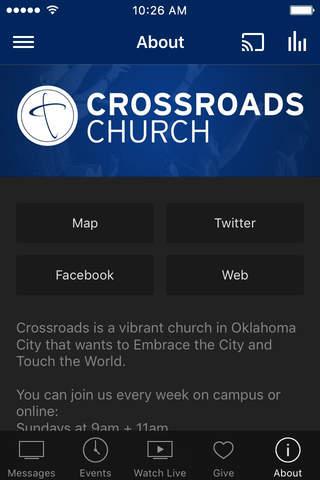 Crossroads Church OKC - náhled