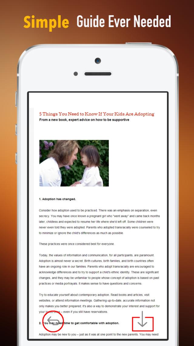 Grandparent Adoption:Tips and Tutorial screenshot 2