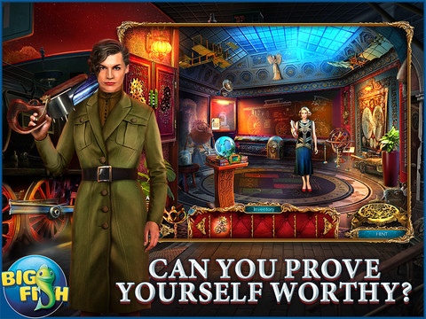 The Curio Society: Eclipse over Mesina HD - A Hidden Object Mystery (Full) screenshot 1