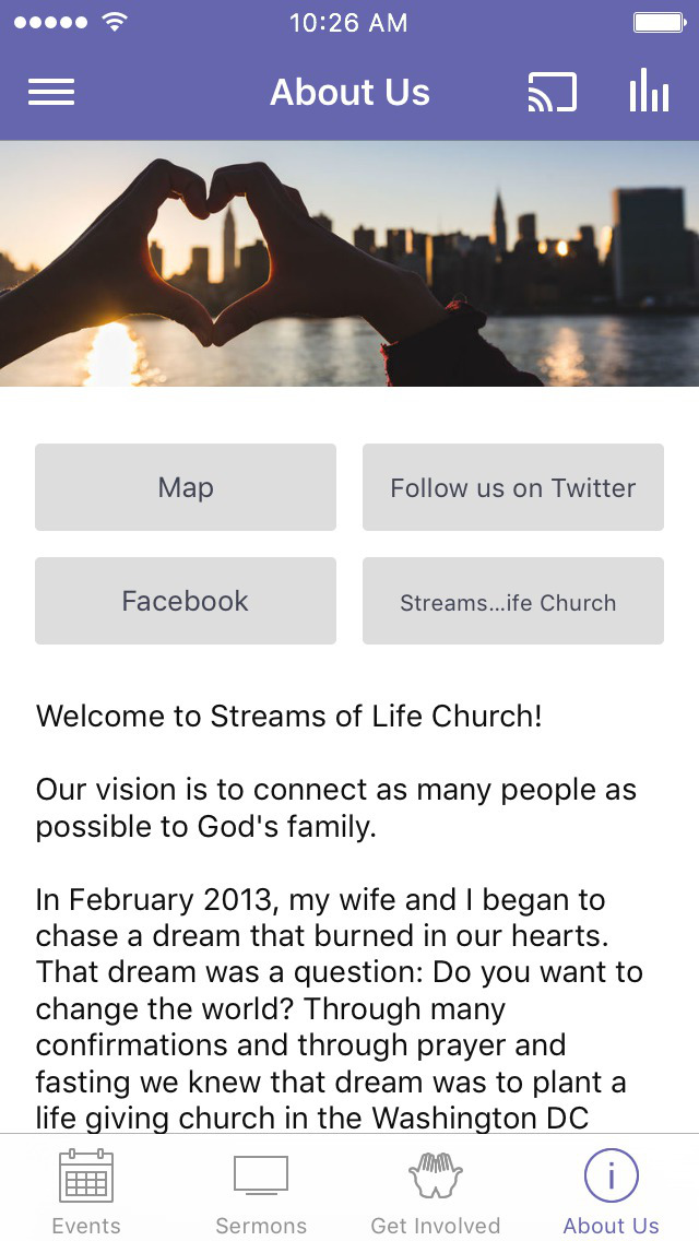 Streams of Life Church screenshot 2
