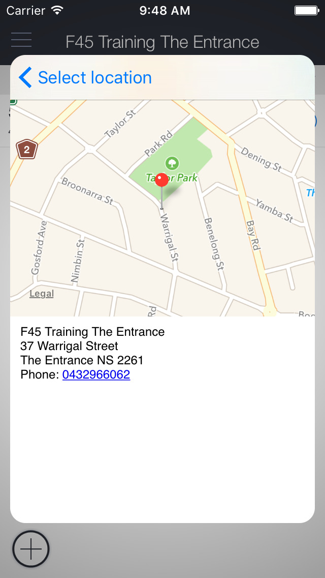 F45 The Entrance screenshot 2