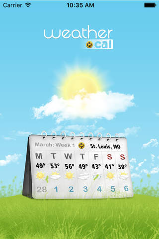 Weather Cal - náhled