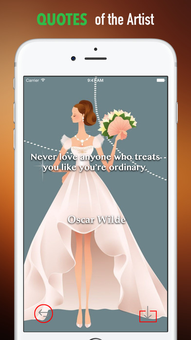 Bride Wallpapers HD: Quotes Backgrounds with Art Pictures screenshot 4