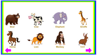 Animals Learn, Identify & Puzzle game for Toddler & Preschool kids screenshot 2