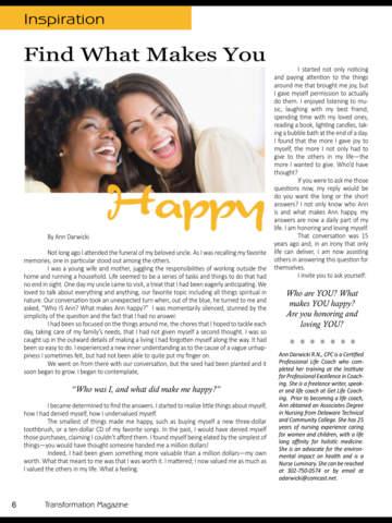 Transformation (Magazine) screenshot 7