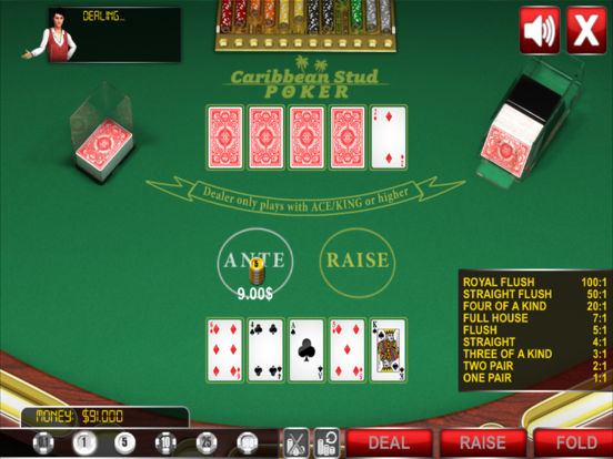 Caribbean Stud Poker ® screenshot 9