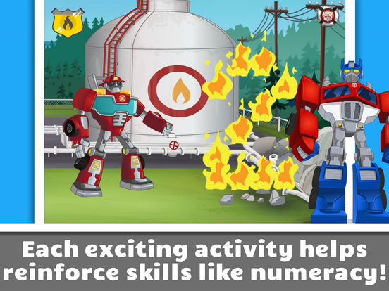 Transformers Rescue Bots: Save Griffin Rock screenshot 8