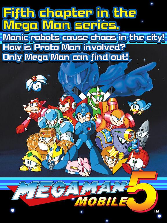 MEGA MAN 5 MOBILE screenshot 5