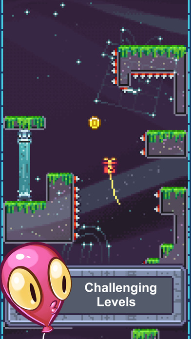 The Balloons: No Spikes Allowed Floaty Adventure screenshot #4