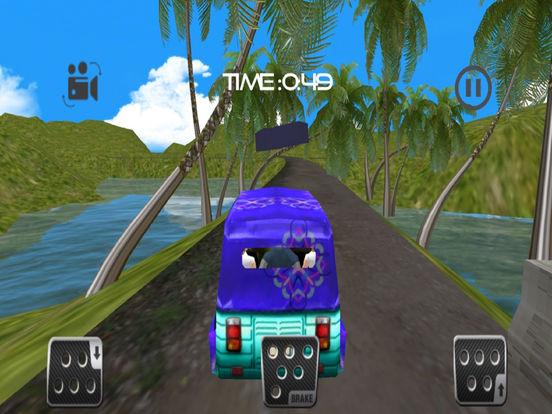 Mountain Ricksha Drive : 3D New Simulation 2016 screenshot 9