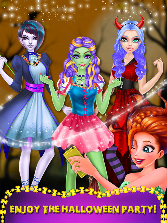 Halloween Ghost Girl Makeover screenshot 10