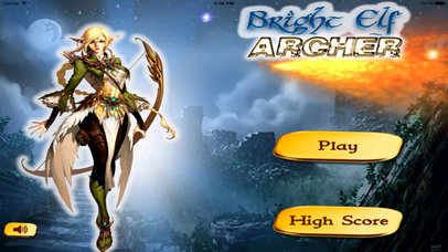 Bright Elf Archer Pro - A Glowing Magic Bow screenshot 1