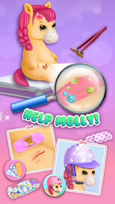 Pony Sisters Pet Hospital - No Ads screenshot 3