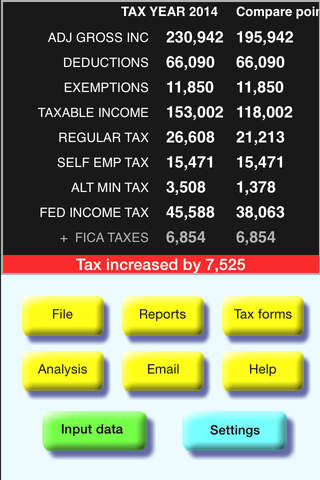 TaxMode - USA Income Tax Calculator - náhled