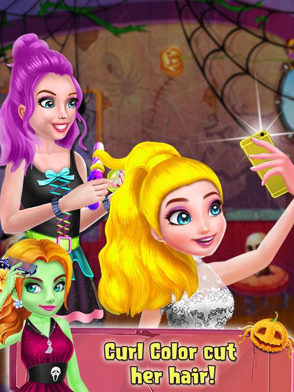 Halloween Relaxing Spa Salon screenshot 7