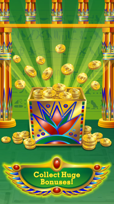 Triple Pharaoh's Way Slot Machine Pro Edition screenshot 3