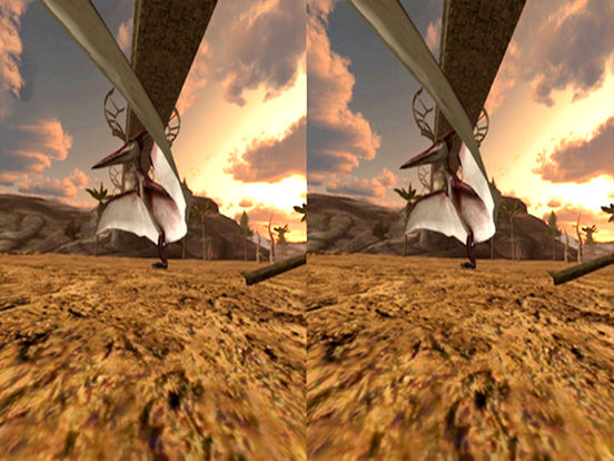VR Jurassic Land Tour Cardboard Game screenshot 9