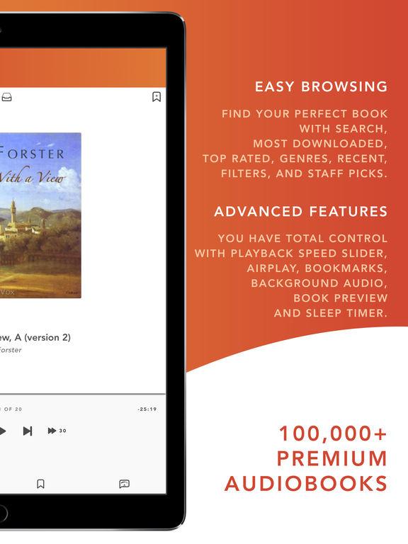 Audiobooks HQ -- audio books screenshot 7