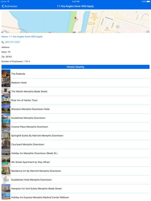 i4memphis - Memphis Hotels, Yellow Pages Directory screenshot 8