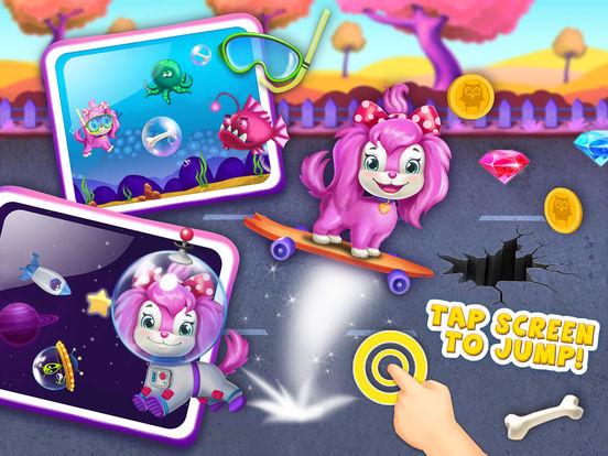 Pink Dog Mimi - My Virtual Pet Puppy Care & Games screenshot 10