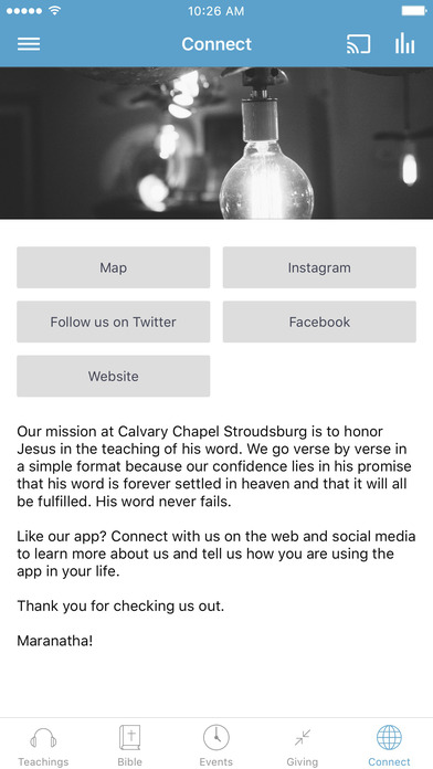 Calvary Chapel Stroudsburg screenshot 3