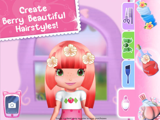 Strawberry Shortcake Holiday Hair - Fashion World screenshot 7
