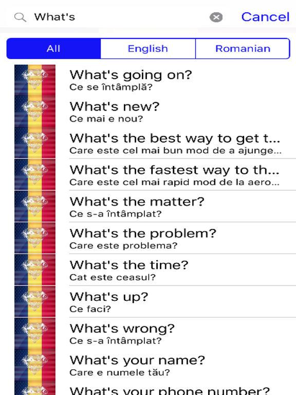 Romanian Phrases Diamond 4K Edition screenshot 5