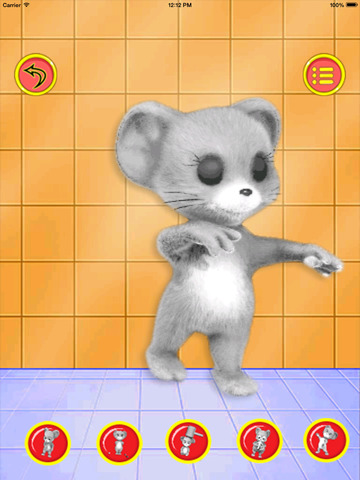 crazy mouse - kids games - náhled