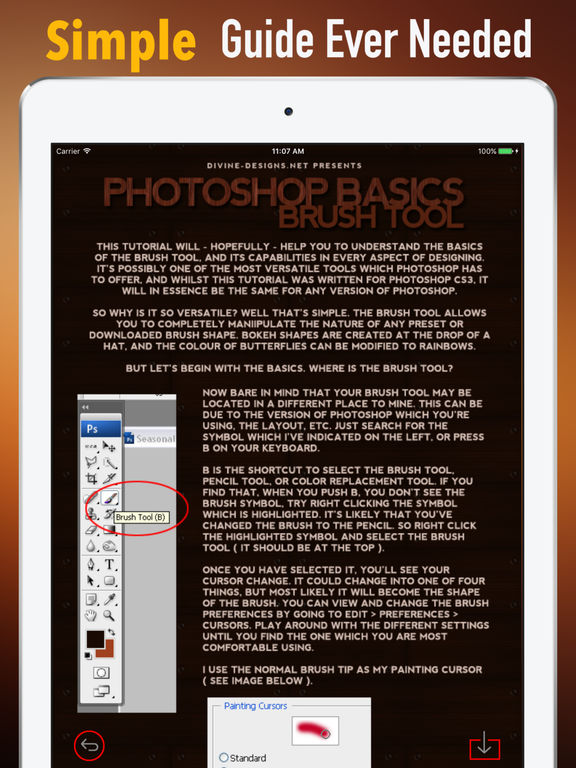 How to Learn Photoshop-Art Guide and Commercial screenshot 6