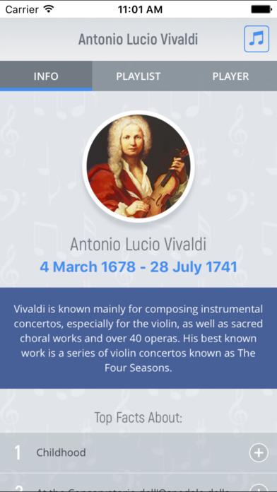 Antonio Vivaldi - Classical Music screenshot 4