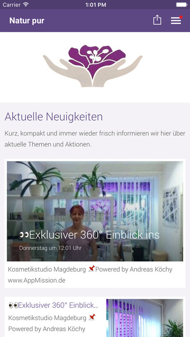 Natur pur Angelika Kautzner screenshot 1