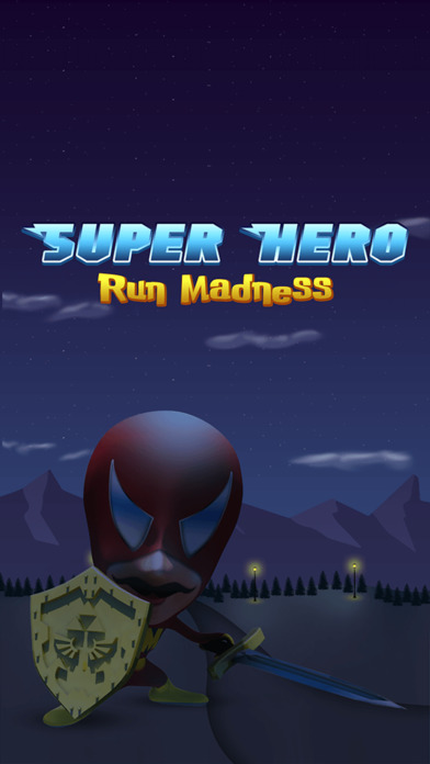 Super Hero Run Madness Pro screenshot 1