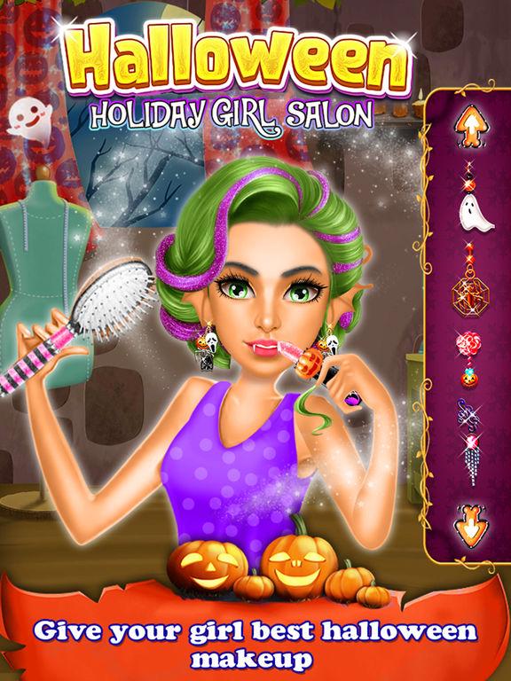 Halloween Holiday Girl Salon screenshot 7