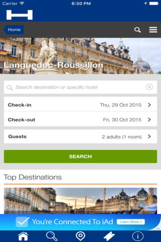 Languedoc-Roussillon Hotels + Compare and Booking  - náhled