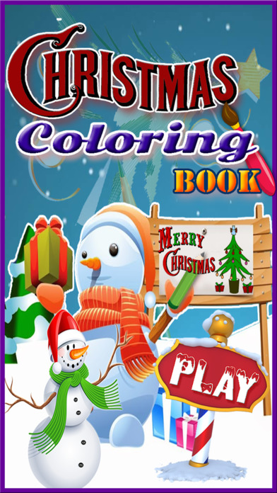 WOW! Christmas Coloring pages for kids & Adult screenshot 1