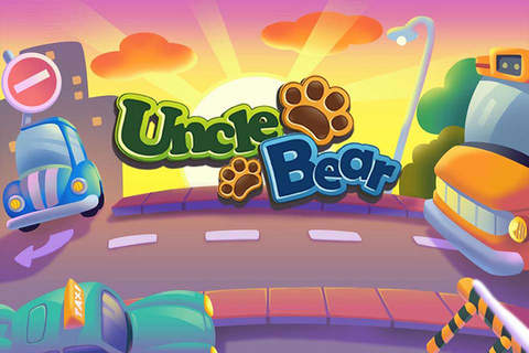 Kids Line Game Vehicle - Uncle Bear education game - náhled