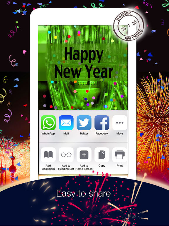2017 - Happy New Year Cards & Greetings screenshot 8
