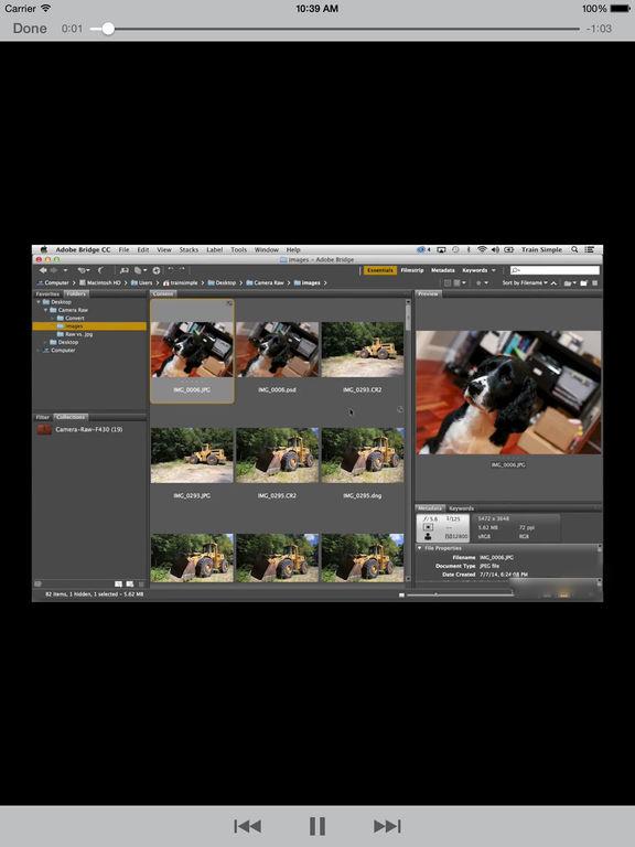 Learning CameraRaw screenshot 8