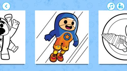 Go Jetters Colouring screenshot 2