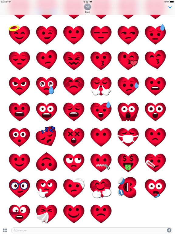 Love Emoji • Stickers screenshot 8