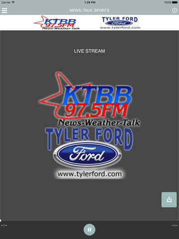 KTBB Radio - náhled