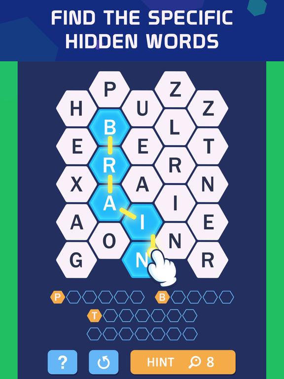 Word Spark Hexa - Block Puzzle screenshot 7