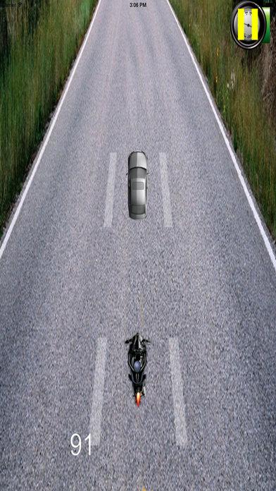 A Racing Driving Biker Pro - Extreme Simulator screenshot 2