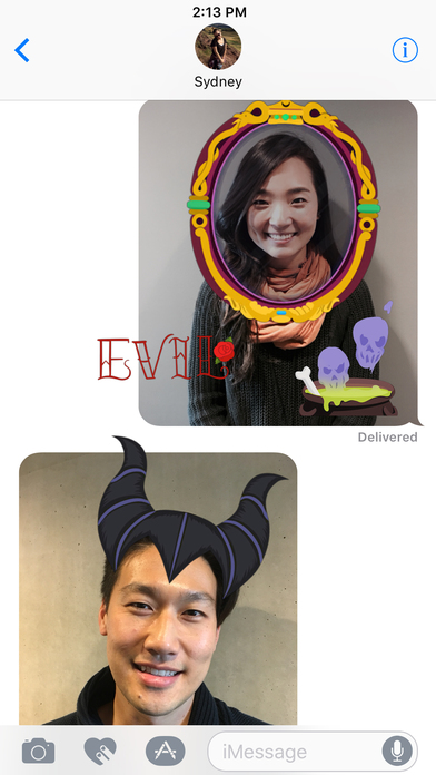 Disney Stickers: Villains screenshot 3