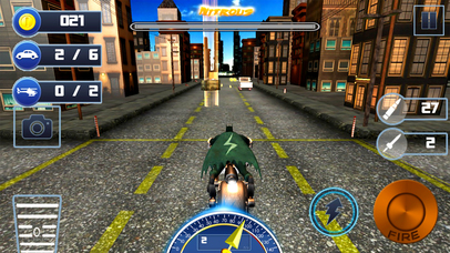 City Bike Shooter 3D screenshot 2
