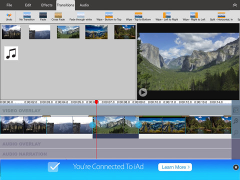 VideoPad Video Editor Free - náhled